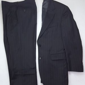 Jos A Bank Signature Collection Suit 40L Charcoal